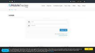 Login   Mobile Tracker Free