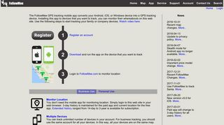 FollowMee GPS Tracker   Real-Time GPS Tracking Mobile App