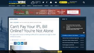 Can't Pay Your IPL Bill Online? You're Not Alone   93.1 WIBC