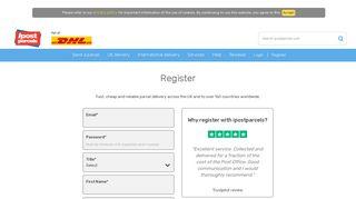 Register For Our Parcel Delivery & Courier Services   ipostparcels