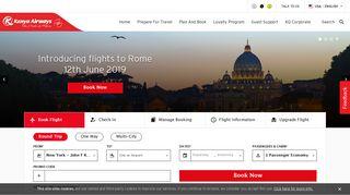 Kenya Airways - Explore The World | The Pride of Africa