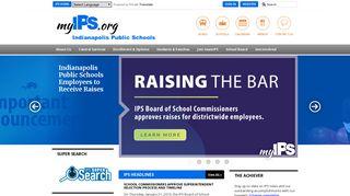 Sign In - Indianapolis Public Schools