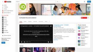 iQ Student Accommodation - YouTube