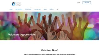 Volunteer Opportunities - Peace Corps Community for Refugees