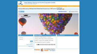IRCTC Online Passenger Reservation System - Services.irctc