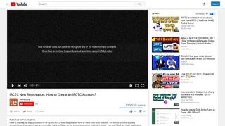 IRCTC New Registration: How to Create an IRCTC Account ...