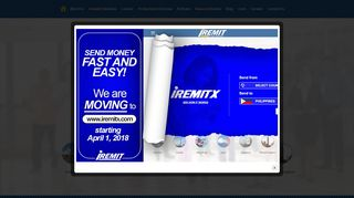 Home - iRemit Inc.   online money remittance in the philippines   online ...