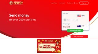 Welcome To e-remit Online Money Transfer Portal