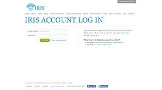 Iris Account Log In - Iris Global