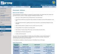 Welcome To EFTPS - Help and Information - EFTPS.com