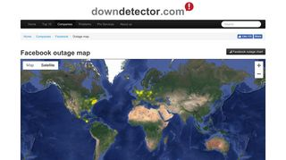 Outage map - Downdetector