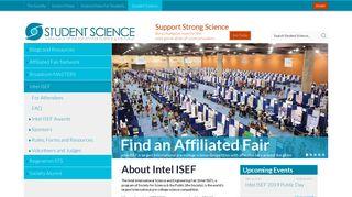 Intel ISEF | Student Science