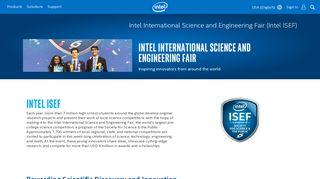 Intel International Science and Engineering Fair (Intel ISEF)