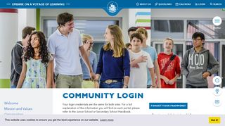 Community Login - International School Hamburg
