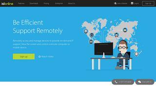 ISL Online: Remote Desktop Software