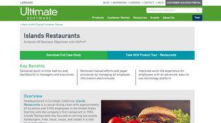 Islands Restaurants eliminates manual processes by adopting cloud ...