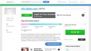Access n22.ultipro.com. UltiPro