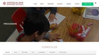 Curriculum | Snoqualmie Springs School
