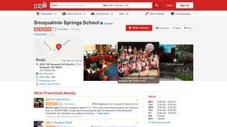 Snoqualmie Springs School - Preschools - 25237 SE Issaquah Fall ...