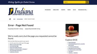 ISTAR Experience Online - Indiana Department of Education - IN.gov