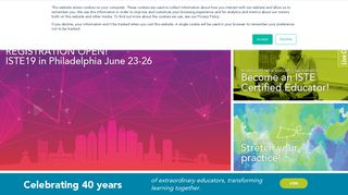 ISTE - International Society for Technology in Education | Edtech