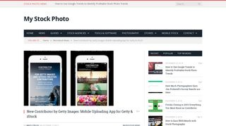 New Contributor by Getty Images: Mobile Uploading App for Getty ...