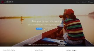 Adobe Stock Contributor: Sell stock photos, videos, vectors online