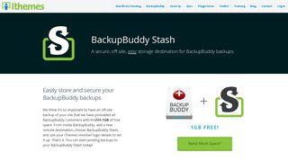 BackupBuddy Stash - iThemes
