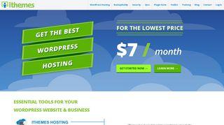 iThemes: Premium WordPress Plugins & Tools