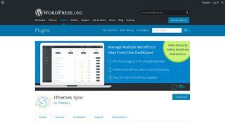 iThemes Sync | WordPress.org