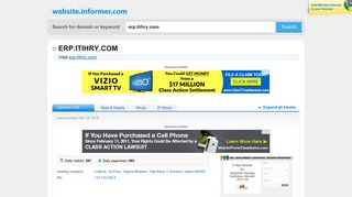 erp.itihry.com at Website Informer. Visit Erp Itihry.