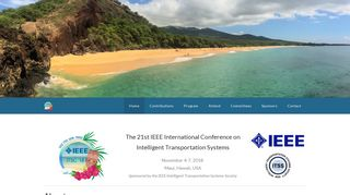IEEE ITSC 2018 - Home