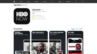 HBO NOW on the App Store - iTunes - Apple