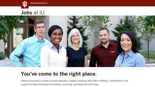 Jobs at IU: Indiana University