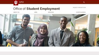 Office of Student Employment: IUPUI