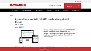 iWAREHOUSE GATEWAY Designed for All Devices