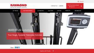 iWAREHOUSE Evolution   Forklift Fleet Management System