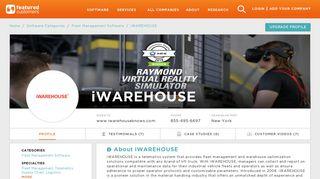 20 Customer Reviews & Customer References of iWAREHOUSE ...