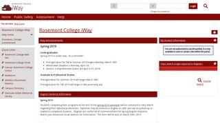 iWay Home | Rosemont College iWay