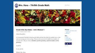 Mrs. Hara – 7th/8th Grade Math | Kula Waena - KS Blogs