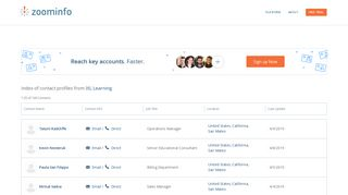 IXL Learning: Employee Profiles | ZoomInfo.com