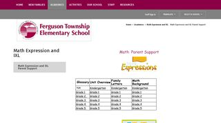 Math Expression and IXL - State College Area School District