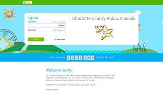 IXL - Charlotte County Public Schools