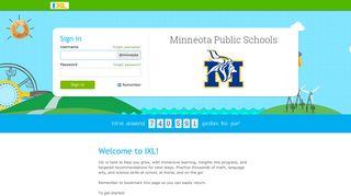 IXL - Minneota Public Schools
