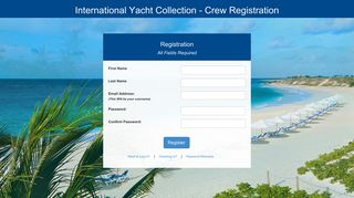 Crew Registration - IYC