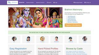 DivyaVivaham: Best Hindu Brahmin Community Matrimony Site