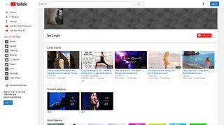 Iza Login - YouTube
