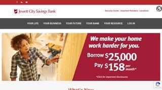 Jewett City Savings Bank – Your Life. Your Bank.