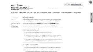 registration - JCC Manhattan