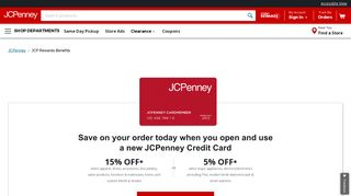 JCPenney Credit Card
